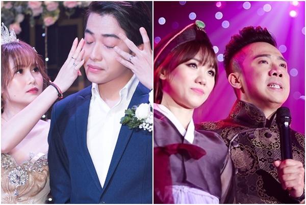 """Góc yếu đuối: Cris Phan và loạt sao nam Việt khóc mếu máo trong ngày cưới, """"mít ướt"""" hơn cả vợ"""