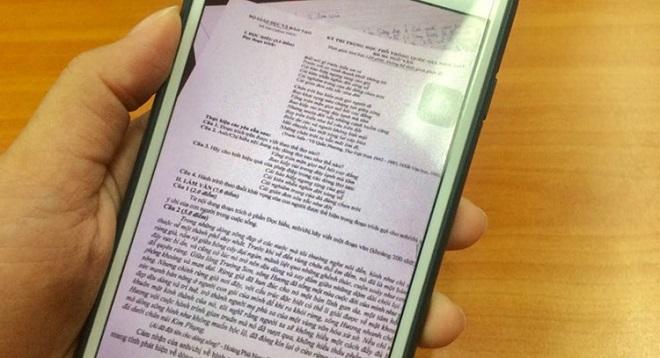 Ảnh 1: Lọt đề thi Ngữ văn - We25.vn