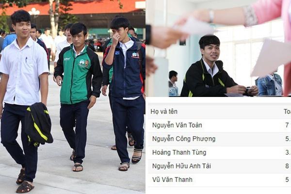 Lộ điểm thi tốt nghiệp của cầu thủ Việt Nam: Công Phượng học giỏi bất ngờ nhưng vẫn có người giỏi hơn!