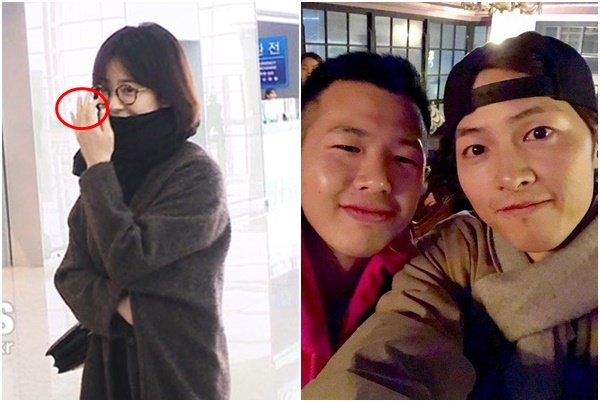 """Nửa năm xa cách và loạt """"dấu hiệu lạ"""" báo trước việc Song Joong Ki -  Song Hye Kyo chia tay"""