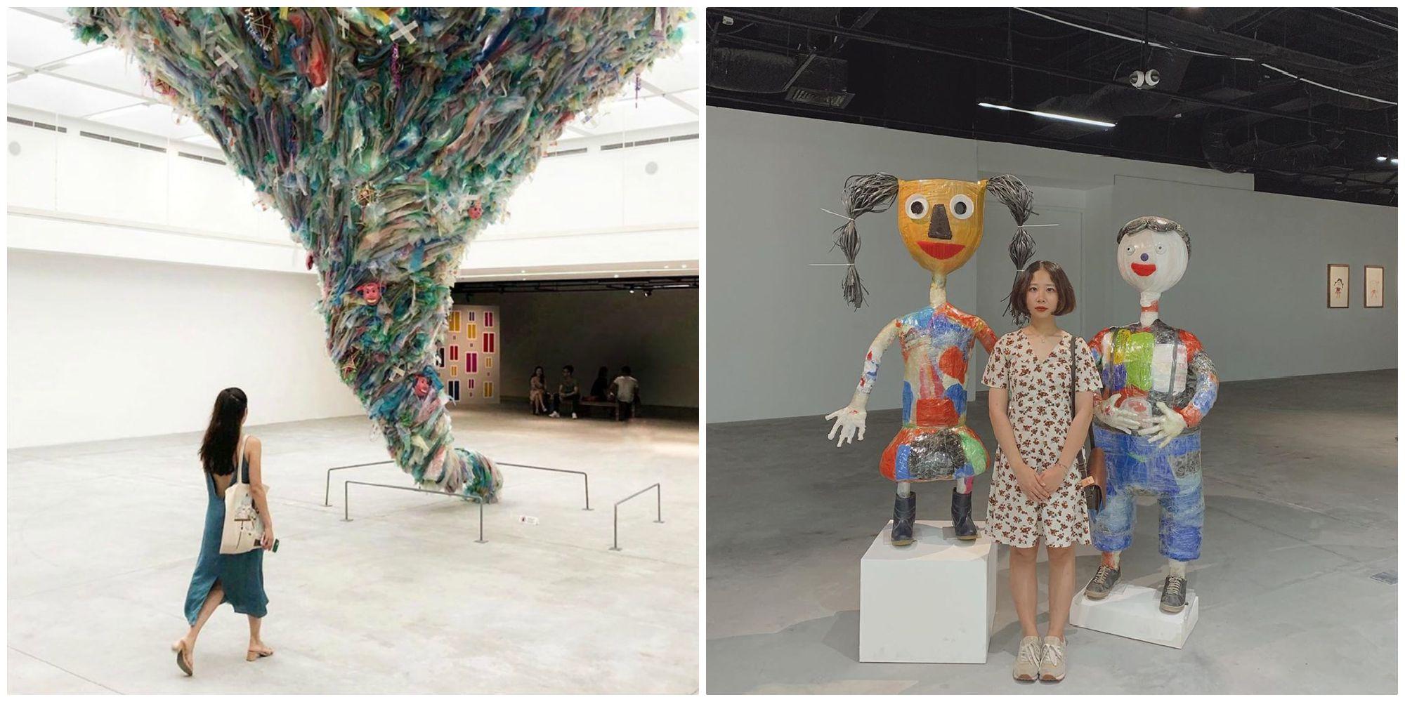 """Trải nghiệm không gian nghệ thuật bằng Nhựa """"khổng lồ"""" ngay giữa lòng Hà Nội"""