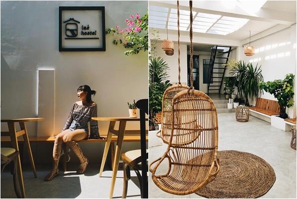 """""""Tan chảy"""" Hostel tường trắng phủ đầy cây xanh như quán cafe giữa lòng Phú Yên, không đi phí của giời"""