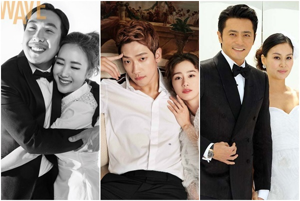 """Không cần đám cưới """"thế kỷ"""", những cặp đôi này mới là ngôn tình đời thực của showbiz Hàn"""