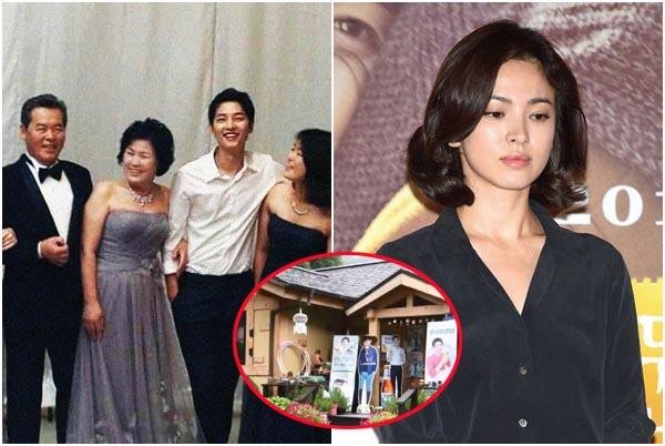 """Cạn tình: Cả gia đình Song Joong Ki """"đồng tâm hiệp lực"""" hắt hủi xóa bỏ con dâu cũ, anh trai còn phũ hơn"""