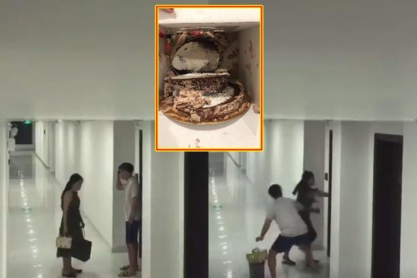 """Mang bánh sinh nhật tạo bất ngờ cho người yêu, cô gái mới là người bất ngờ vì bắt gặp bạn trai và bạn thân đang """"hú hí"""""""