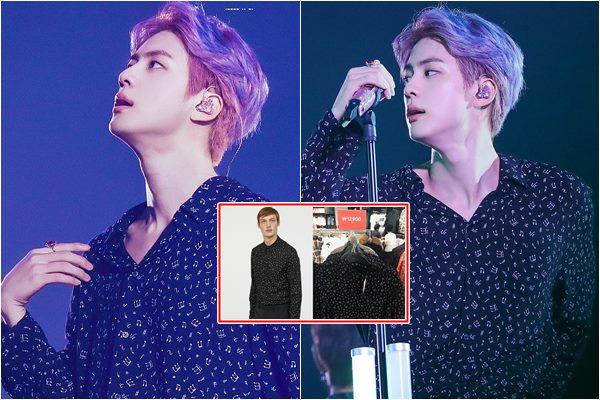 """Đẳng cấp """"nam thần"""" BTS: Mặc áo sale 260k vẫn khiến fan hí hửng tưởng áo hiệu"""