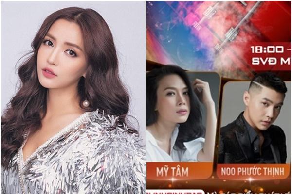 """Fans Bích Phương """"làm loạn"""" vì poster in hình thần tượng """"bé hơn"""" hơn Noo Phước Thịnh, Mỹ Tâm?"""