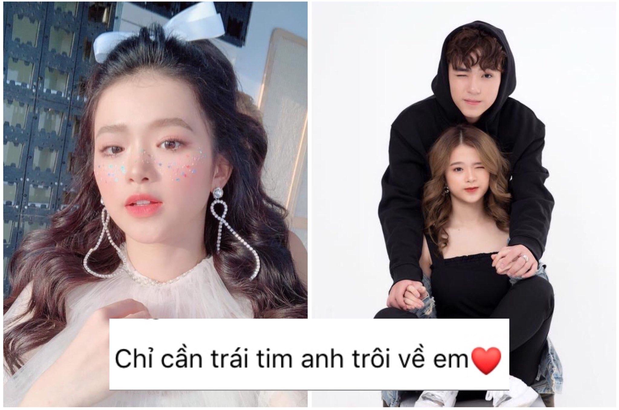 Mới tý tuổi mà facebook Linh Ka đã rải toàn thính tán trai, chị em phải xách dép mà học theo