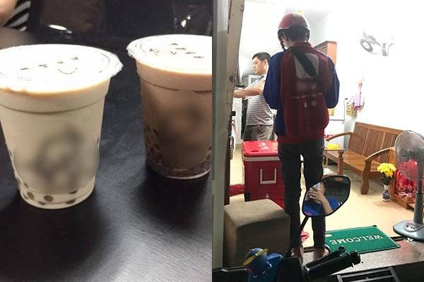 """Uống trà sữa đặt qua ứng dụng online bị đau bụng, cô gái tá hỏa khi phát hiện hóa ra là """"hàng fake"""""""