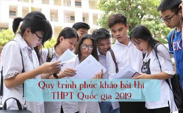 Những điều cần biết về quy trình phúc khảo bài thi THPT Quốc gia 2019