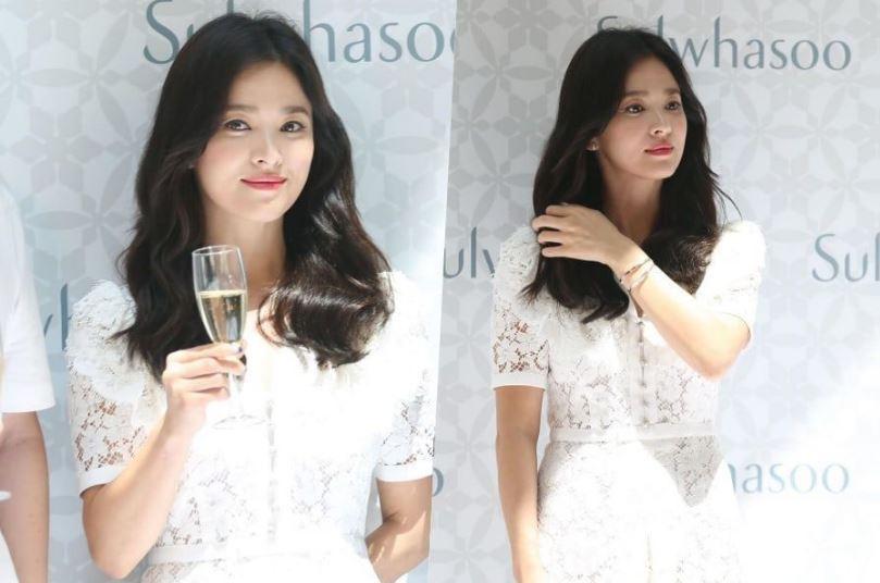 Song Hye Kyo lộ hình ảnh tiều tụy, cố gắng gượng cười trước truyền thông hậu ly hôn với Song Joong Ki