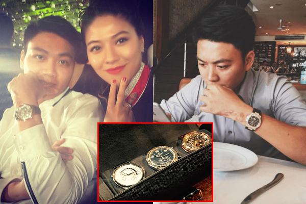 """Choáng ngợp với """"kho đồng hồ hiệu"""" trị giá cả chục tỷ đồng của """"bạn trai mới"""" hoa hậu Đỗ Mỹ Linh"""