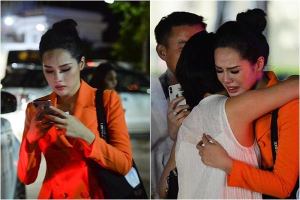 Hậu trường bạn gái Trọng Đại khóc nức nở vì bị loại khỏi chung khảo Miss World Việt Nam 2019