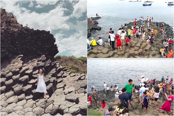 """Hết Hồ Vô Cực Đà Lạt đến Gành Đá Đĩa Phú Yên """"hốt hoảng"""" vì quá đông khách"""