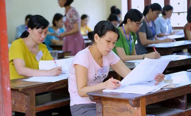 Chấm thi THPT quốc gia 2019: Nam Định có 8 bài thi môn Ngữ văn đạt 9,25 điểm