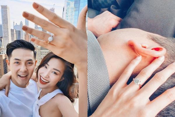 """Điểm lại những chiếc nhẫn cưới đính kim cương """"siêu to khổng lồ"""" của dàn sao Việt: Nhìn nhẫn cưới của Ưng Hoàng Phúc mới choáng"""