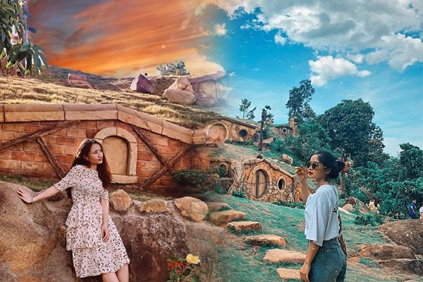 """Check-in ngay """"ngôi làng cổ tích Hobbit"""" mới xuất hiện ở Huế, đến nơi chỉ muốn hóa """"người lùn"""""""