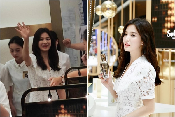 """Khoảnh khắc tươi cười hiếm hoi của Song Hye Kyo sau khi bị Song Joong Ki """"đánh úp"""" việc ly hôn"""