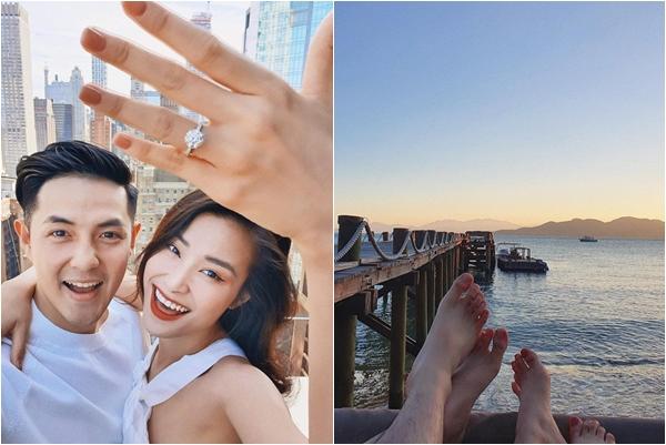 """Tự gọi mình là """"Ocean girl"""", phải chăng Đông Nhi """"ngầm"""" thông báo sẽ làm đám cưới bên bờ biển cực lãng mạn?"""