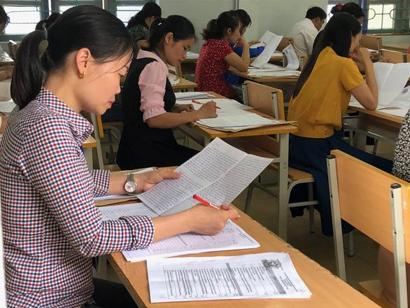 Có 574 bài thi Ngữ văn THPT Quốc gia trên 8 điểm, Nam Định áp đảo cả nước
