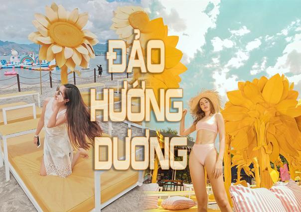 """Phát hiện Đảo hoa hướng dương """"siêu khổng lồ"""" chỉ cách Việt Nam 4 giờ bay"""