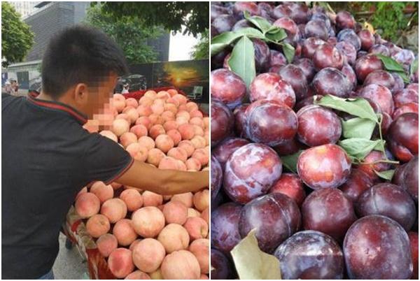"""Tiểu thương bán rong hoa quả tiết lộ sốc: Toàn hàng Trung Quốc """"đội lốt"""" hàng Việt!"""