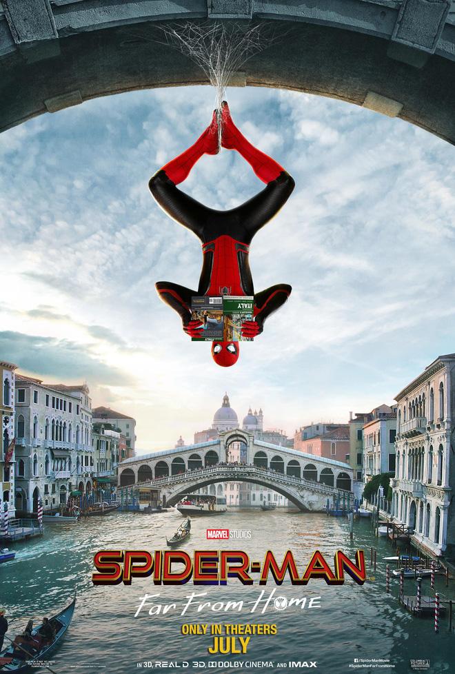 """Du hành đến những tọa độ đẹp nhất châu Âu cùng """"Nhện Nhọ xa nhà"""" Spider Man"""