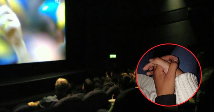 Góc may mắn: Ngủ quên khi đi xem phim, cô nàng được trai lạ nắm tay, cuối cùng kết đôi luôn