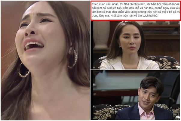Lại thêm bằng chứng Nhã là Kim, từng mang thai với Vũ nhưng phải phá bỏ nên ôm hận trả thù?