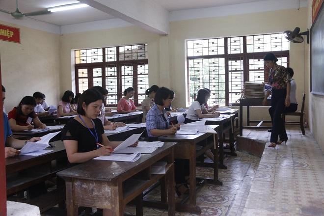 Hòa Bình phải kiểm sửa lại 6% bài thi trắc nghiệm khi chấm thi THPT Quốc gia 2019