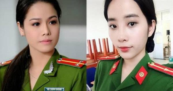 Ngỡ ngàng trước màn hóa thân của các nữ nghệ sĩ Việt khi khoác lên mình đồng phục cảnh sát