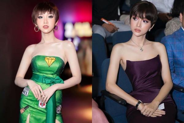 """Tái xuất với mái tóc tém cá tính, Nhật Hà vẫn mãi quẩn quanh dưới """"cái bóng"""" của Hương Giang?"""