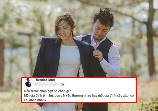 Mới kết hôn nửa năm, vợ chồng Tiến Đạt đã ẩn ý rạn nứt vì có kẻ chọc ngoáy?
