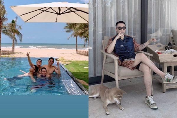 """Đưa cả nhà đi nghỉ mát, nhưng Sơn Tùng M-TP quyết """"che giấu"""" body bằng mọi cách"""