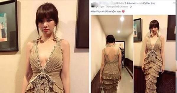 """Thương Hari Won """"bị nóng"""", Trấn Thành cho vợ diện váy khoét rốn tự tin khoe """"cá tính"""""""