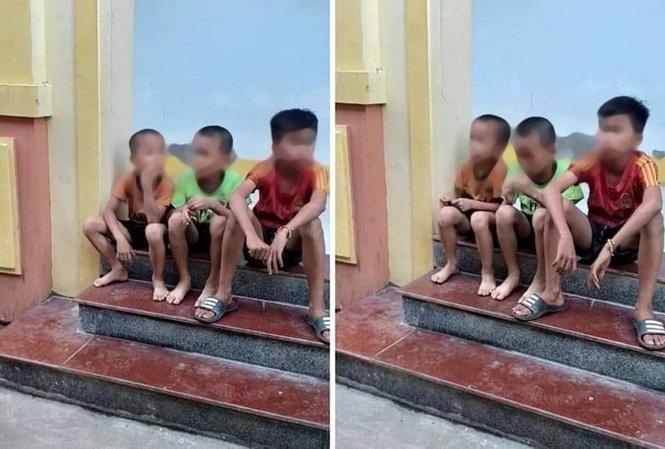 Ba anh em may mắn trốn thoát khỏi xe ô tô của người đàn ông lạ và kiệt sức vì bỏ chạy