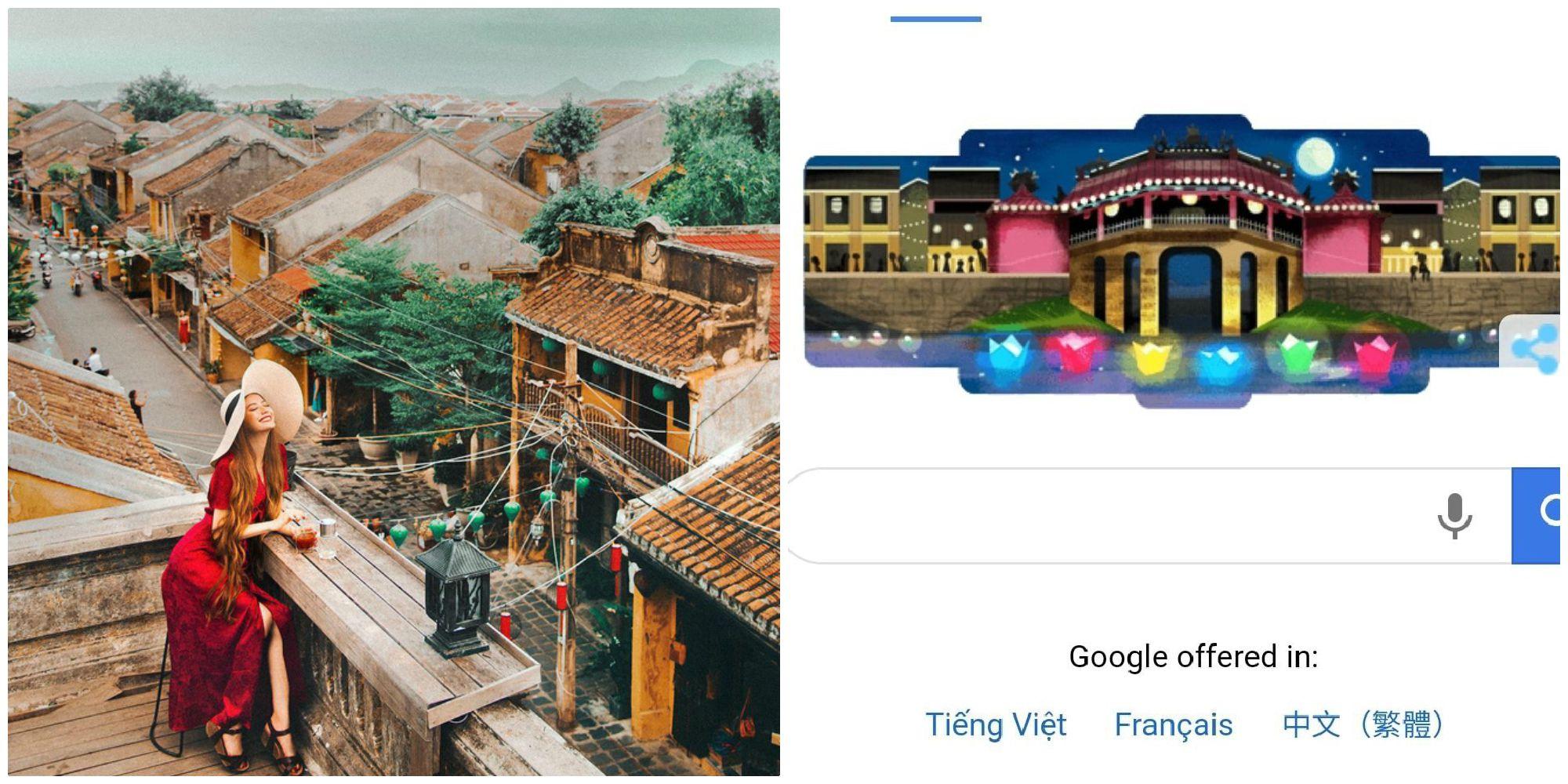 Hội An lần đầu tiên lên hẳn trang chủ của Google khiến người Việt đầy tự hào