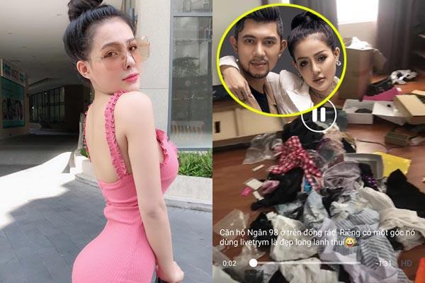 Hot girl ở bẩn: Ngân 98 bị tố quỵt tiền nhà, ăn ở dơ bẩn, Lương Bằng Quang chia tay đòi quà?