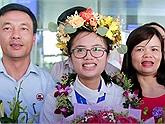 Nữ sinh trường chuyên Lam Sơn đạt huy chương vàng Olympic Vật lý quốc tế 2019