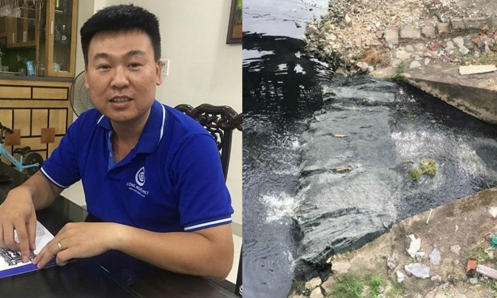 """Doanh nhân trẻ Hà Nội cam kết sẽ """"hồi sinh"""" vĩnh viễn dòng sông Tô Lịch trong vòng chưa đầy nửa năm"""