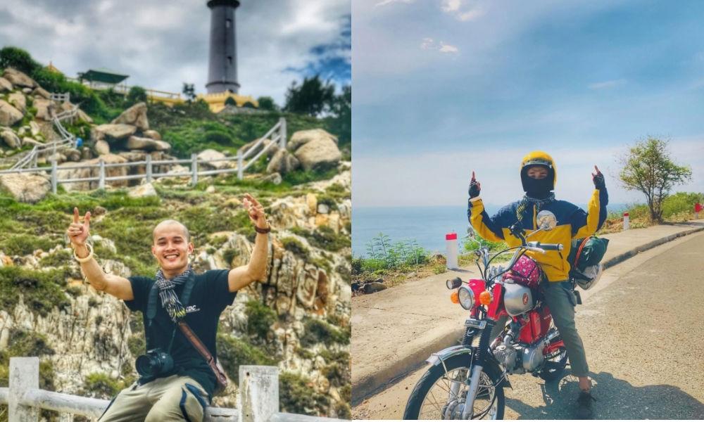 Bỏ công việc Kiến trúc lương cao, chàng trai xứ Quảng du lịch xuyên Việt bằng xe máy: Đời người chỉ có 1 lần thôi !