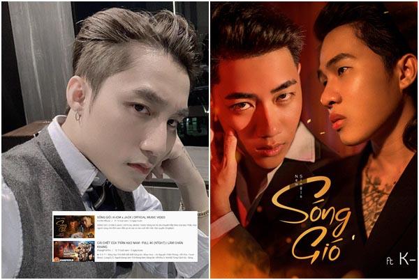 """Cú đáp trả của Sơn Tùng đến Jack khi MV """"Sóng gió"""" lật đổ ngôi vua của """"Hãy trao cho anh""""!"""