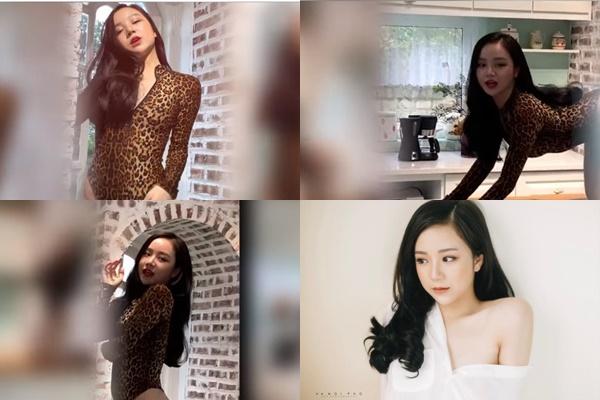 """Lộ clip """"hot girl ngủ gật"""" uốn éo như đuông dừa trên bàn bếp, quay MV ca nhạc debut để """"đánh gục Chi Pu""""?"""