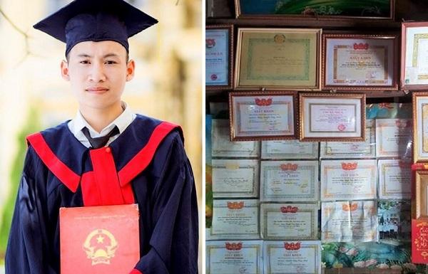 Nghị lực phi thường của nam sinh mồ côi đạt 25,5 điểm vẫn thi lại vì ước mơ đỗ trường quân sự