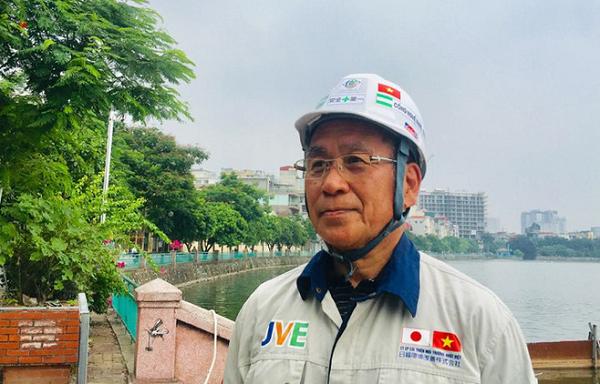 Dự án thử nghiệm xử lý ô nhiễm sông Tô Lịch được phía Nhật Bản tài trợ 100% chi phí
