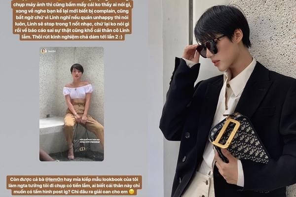 """Bị chủ quán dọa tung bằng chứng """"thay 8 bộ quần áo"""" để chụp, Khánh Linh The Face nói gì?"""