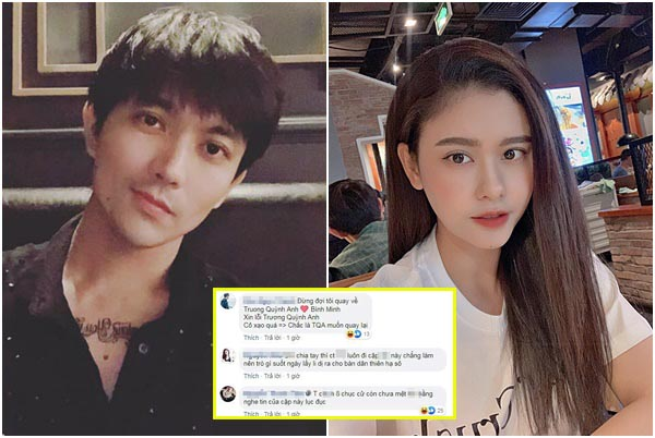 """Dòng status """"móc mỉa"""" của Tim khi vợ cũ Trương Quỳnh Anh níu kéo quay lại?"""