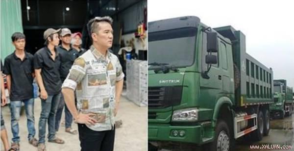 Chơi lớn như Đàm Vĩnh Hưng, thuê hẳn 9 xe tải để chở riêng thứ này khiến ai nhìn vào cũng tò mò