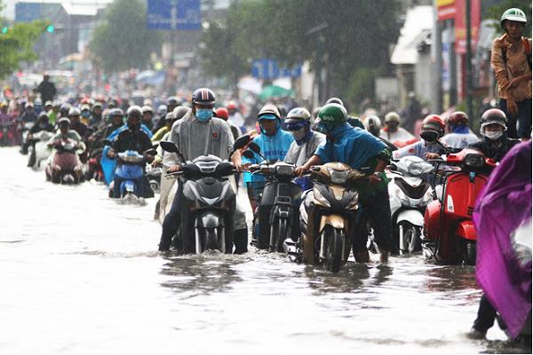 Vì sao con đường nội đô đẹp nhất TP.HCM biến thành điểm đen ngập nước sau 6 năm thông xe?