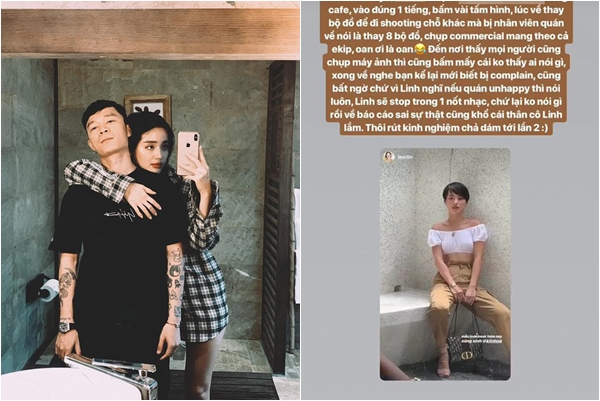 """Bạn trai Khánh Linh lên tiếng đòi quán cà phê phải xin lỗi người yêu, còn không quên vỗ về: """"Khó quá về Hà Nội anh nuôi"""""""